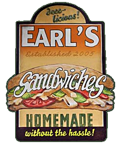 Earl's homemade sandwiches in Arlington VA - homemade without the hassle!
