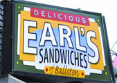 Earl's new location in Ballston, VA!  Earl's in Ballston