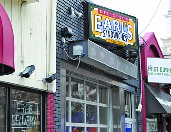 Earls Sandwiches in Ballston storefront